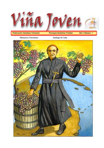 Cubierta del primer número de la revista Viña Joven