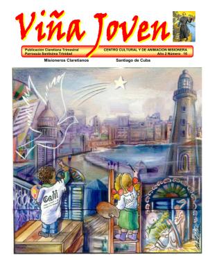 Cubierta del décimo número de la revista Viña Joven