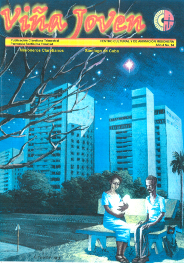 Cubierta del nro 14 de la revista Viña Joven