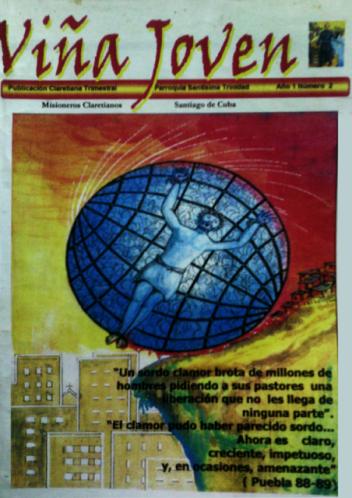 Cubierta del segundo número de la revista Viña Joven