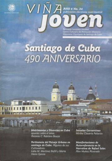 Cubierta del nro 24 de la revista Viña Joven