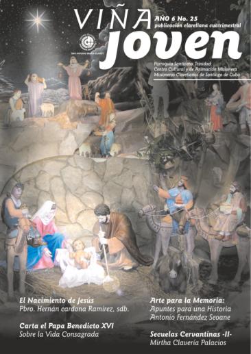 Cubierta del nro 25 de la revista Viña Joven