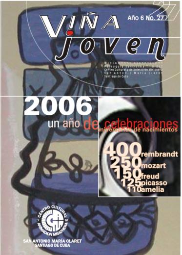 Cubierta del nro 27 de la revista Viña Joven