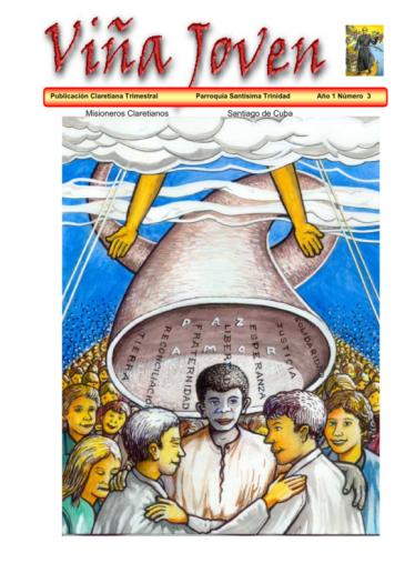 Cubierta del tercer número de la revista Viña Joven