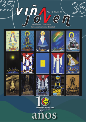 Cubierta del nro doble 35-36 de la revisa Viña Joven
