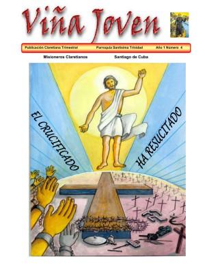 Cubierta del cuarto número de la revista Viña Joven