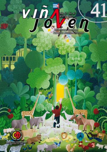 Cubierta del nro 41 de la revista Viña Joven