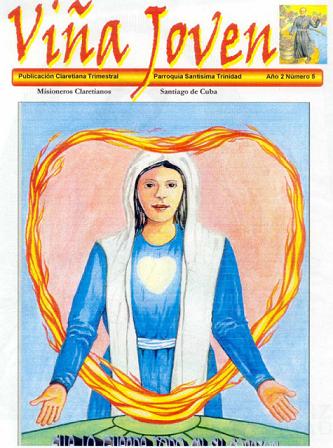 Cubierta del quinto número de la revista Viña Joven