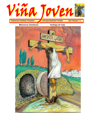 Cubierta del octavo número de la revista Viña Joven