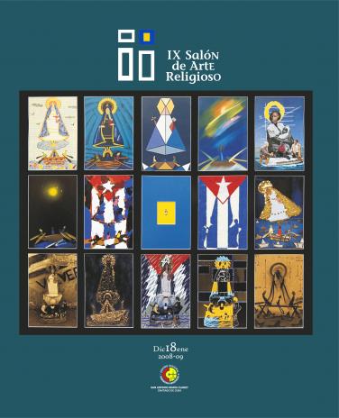 Portada del Catálogo del IX SAR