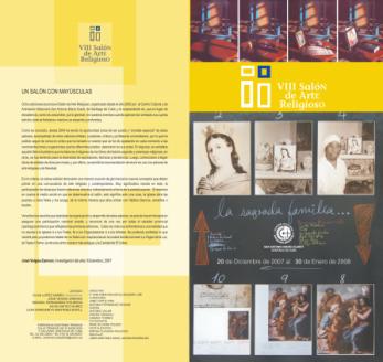 Portada del Catálogo del VIII SAR