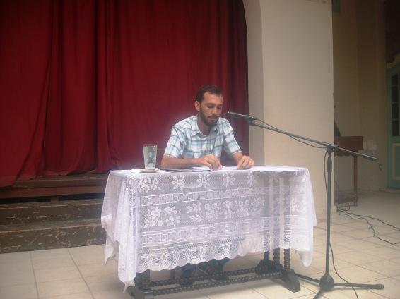 El poeta y narrador, Noel Pérez García, presenta el número 56 de la revista Viña Joven