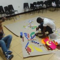 Parte de los preparativos de la gala