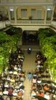 Vista del patio interior del Centro Cultural durante la Gala