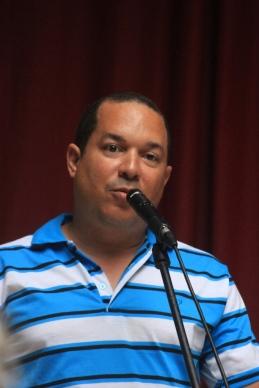 Vladimir Martínez, uno de los autores publicados