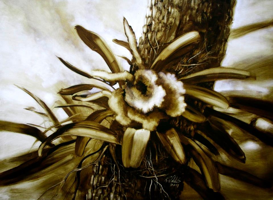 Esther, 2011. Óleo / lienzo, 100 x 135 cm