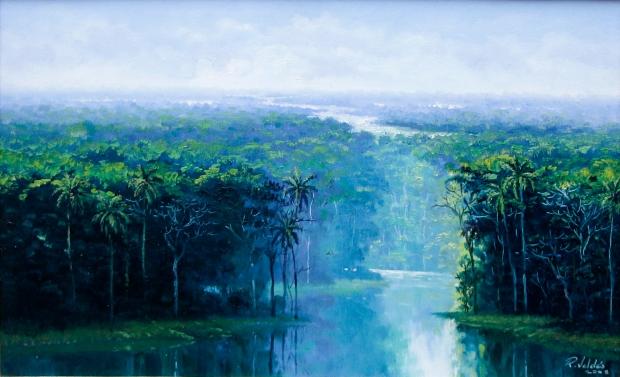 Serenidad, 2008. Óleo / lienzo, 34 x 49 cm