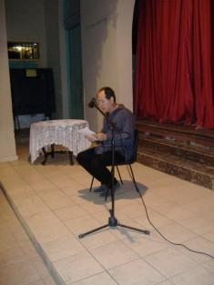 Juan Siam, Primer Premio del Concurso Literario, ley{o el texto ganador
