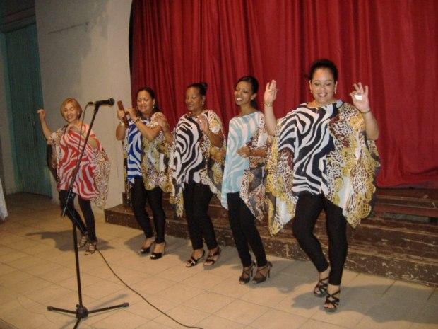 El grupo Vocal Adalias, deleitó con su calidad artística