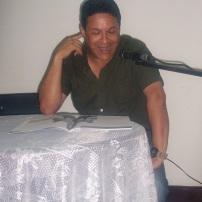 Reinaldo Cedeño deleitó con sus conmovedoras crónicas