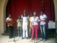 Jóvenes del Taller de música