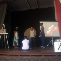Vista de la obra teatral