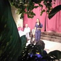 Giselle Lage en el Patio de los Sueños