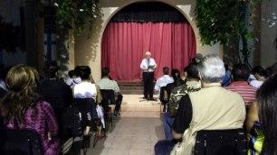 Las palabras inaugurales estuvieron a cargo del P. Miguel Fernández