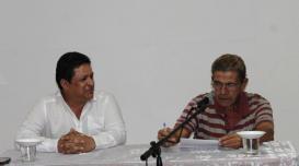 Reinaldo Cedeño y José Orpí