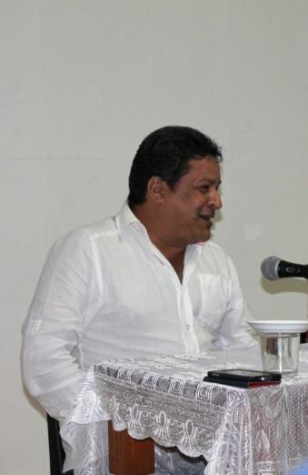 Reinaldo Cedeño en El Patio de los Sueños