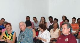 Vista del público asistente