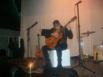 """Aquiles Jorge durante la Gala Cultural """"Noche Cubana"""""""