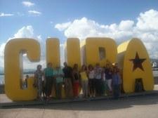Después del encuentro hubo tiempo para pasear por Santiago de Cuba