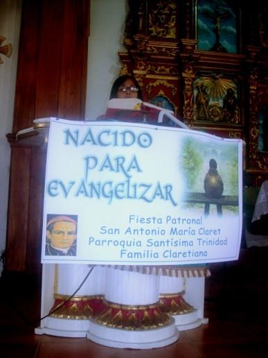 El servicio litúrgico estuvo a cargo de los seglares