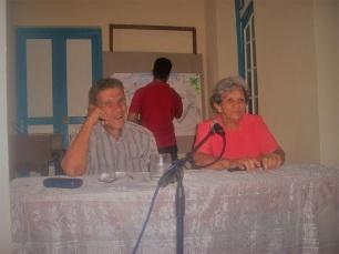 Orpí junto a Rosa Rodríguez