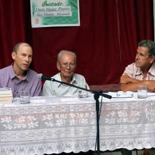 Alex Muñoz (izq) Darío (centro) y José Orpí (der). Foto: Joaquín Sellén