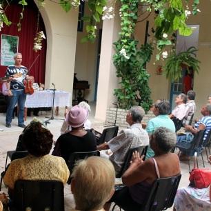 Vista del público. Foto: Joaquín Sellén