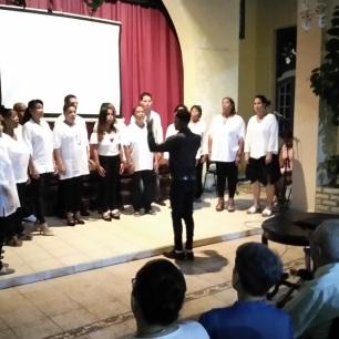 El Coro Magis regaló una exquisita actuación