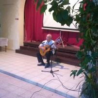 El P. Catasús nos acompañó en la gala cultural