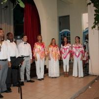 Actuación del coro Ángelus durante la gala de premiación del XX SAR