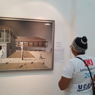 Público en la exposición. Foto: Carlos J. Álvarez