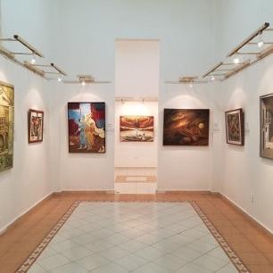 Visión del montaje de la exposición. Foto: Carlos J. Álvarez