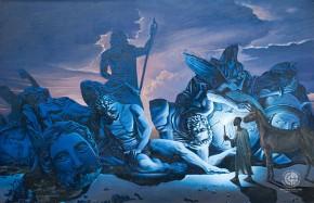 Pablo entrando al país de los efesios. Ernesto R. González Litvinov